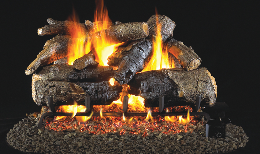 Real Fyre Charred American Oak
