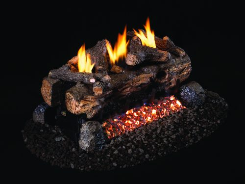 ESV224 Vent Free Evening Fyre Split See-Thru Logs