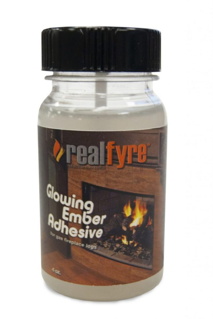 Peterson Real Fyre GL-1 Fireplace Adhesive Glue