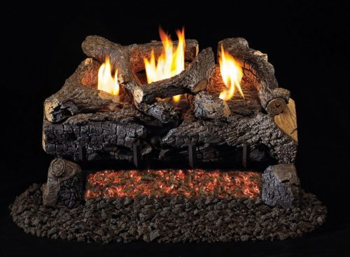 RealFyre Vent Free Evening Fyre Charred Logs