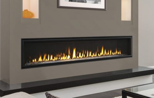 Direct Vent Linear Fireplaces