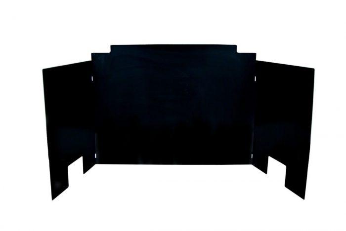 Contemporary-Fyreback-Black-Porcelain