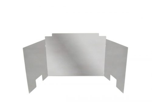 Contemporary Fyreback Polished Stainless Steel
