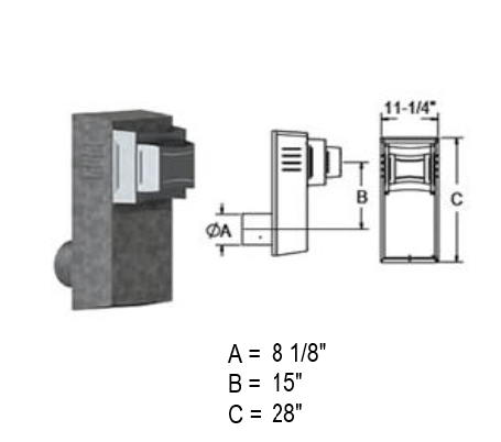 Duravent 58DVA-H2-SNK14