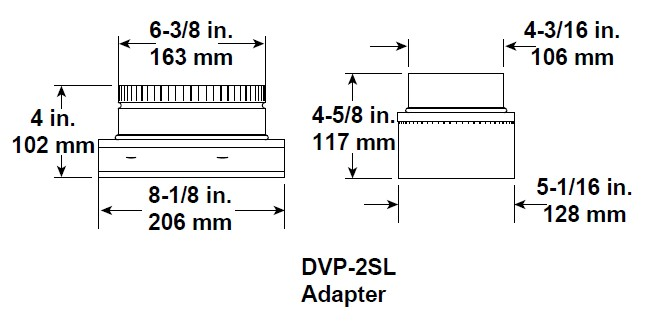 Majestic DVP-2SL Adapter