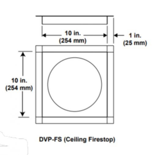 Majestic DVP-FS Ceiling Firestop