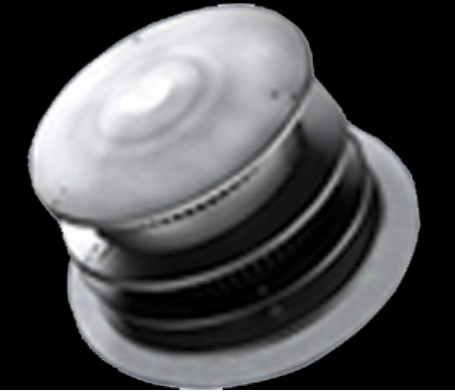 Majestic DVP-HRC-ZC-SS Horizontal high rise termination cap