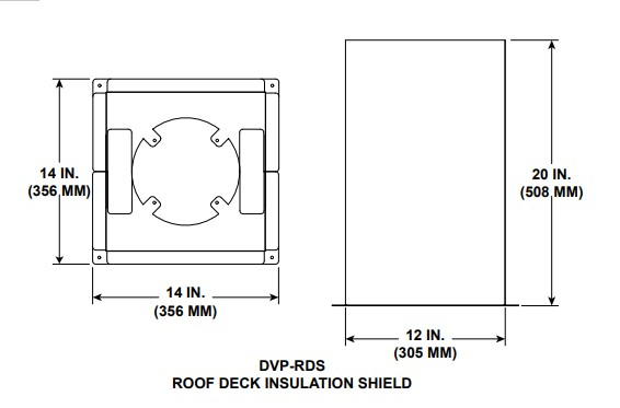 Majestic DVP-RDS Roof Deck Underside Insulation Shield