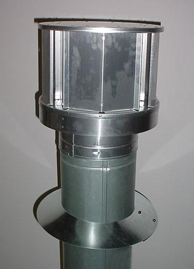 Majestic DVP-TV Vertical direct vent termination cap