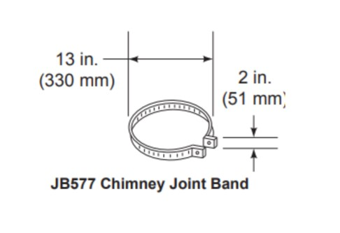 Majestic JB577 Chimney Joint Band