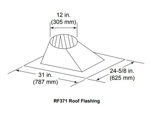 Majestic RF371 Roof Flashing