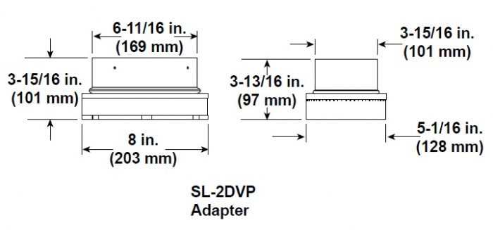 Majestic SL-2DVP Adapter
