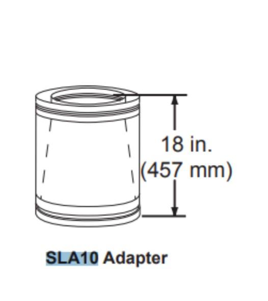 Majestic SLA10 Adapter