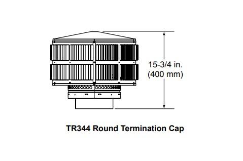 Majestic TR344 Round Termination Cap