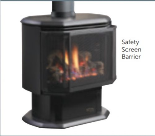 Kingsman Fireplaces F35OCSS SAFETY BARRIER
