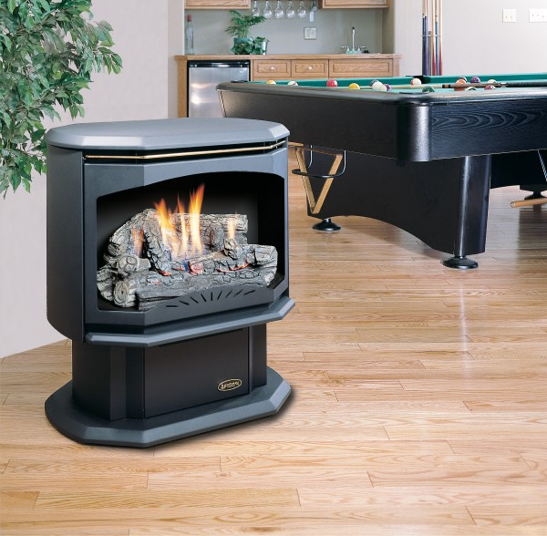 Kingsman Fireplaces FVF350-LogSet