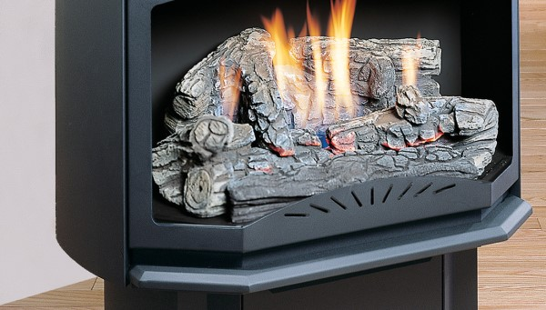Kingsman Fireplaces LOGF35-Fibre-Oak-Log-Set