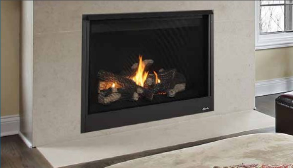 Superior Fireplaces Drt2045 45 Direct Vent Fireplace Top Rear Vent