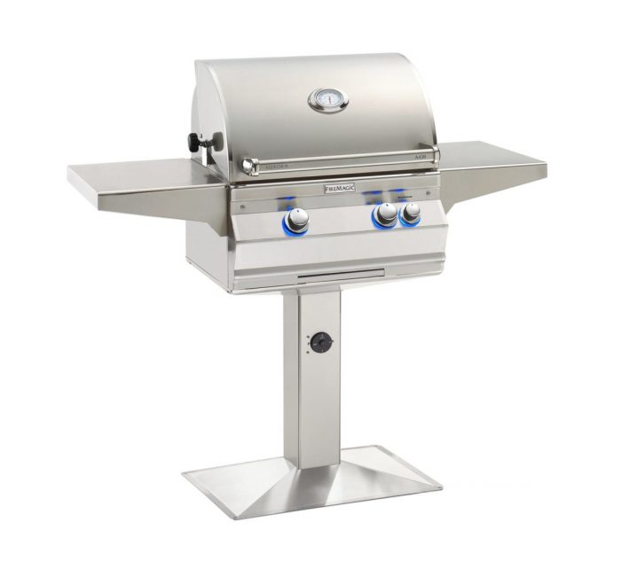 FireMagic C430s-G6_Choice Patio Post Mount Grill