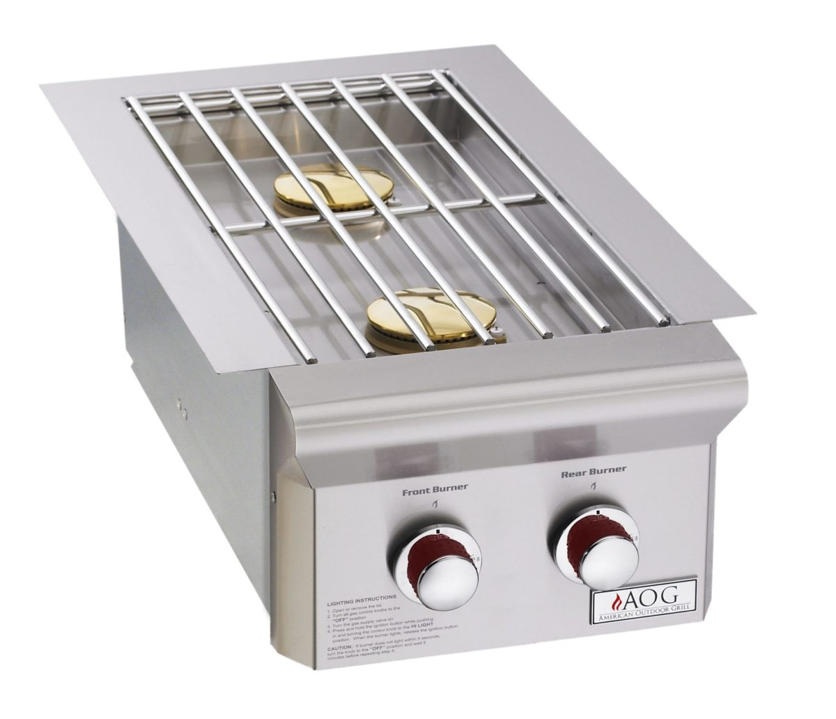AOG 3282T Built-In Double Side Burner T Series
