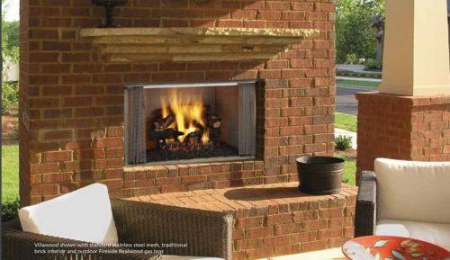 Majestic Dsr36 Designer Series 36 See Thru Wood Burning Fireplace