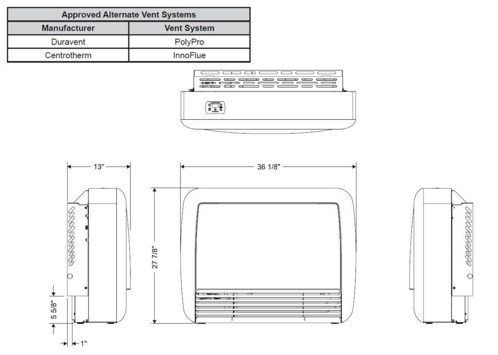 UltraSaver 90 Dimensions