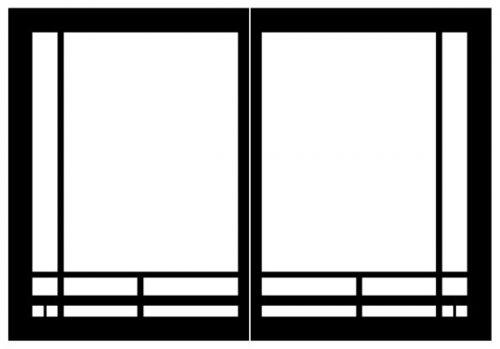 Empire Decorative Door, Mission Rectangle