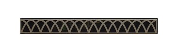 Empire Decorative Louver Arch