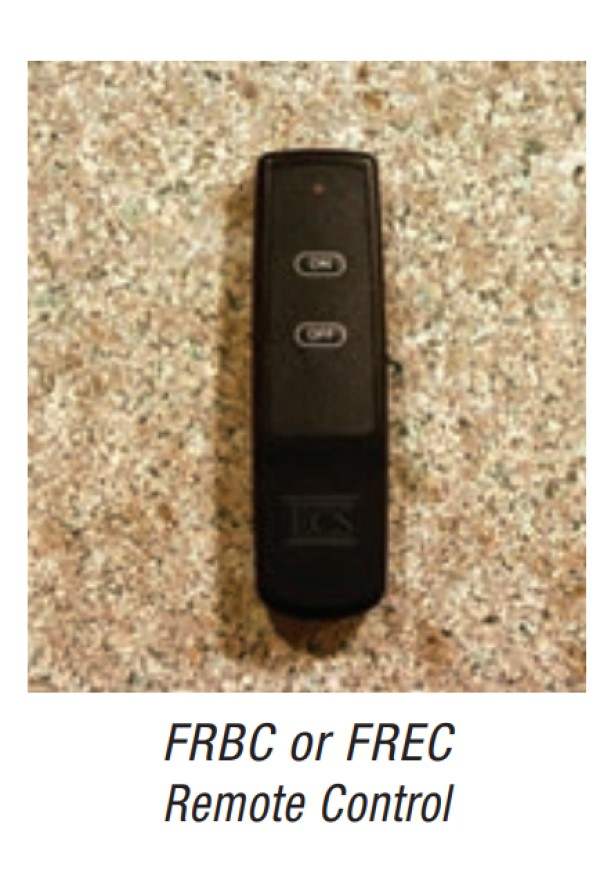 Empire FRBC or FREC Remote Control