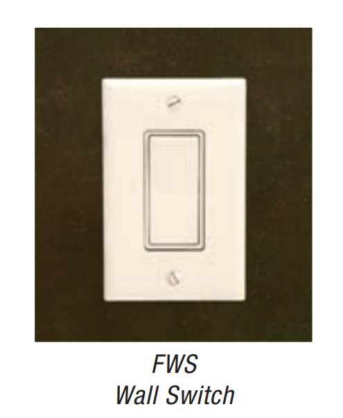 Empire FWS1 Wall Switch, On-Off