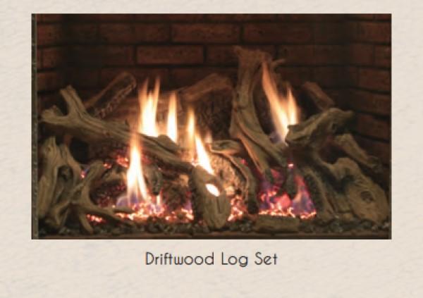 Empire Rushmore Driftwood Log Set