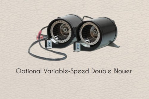 Empire Rushmore Optional Variable-Speed Double Blower