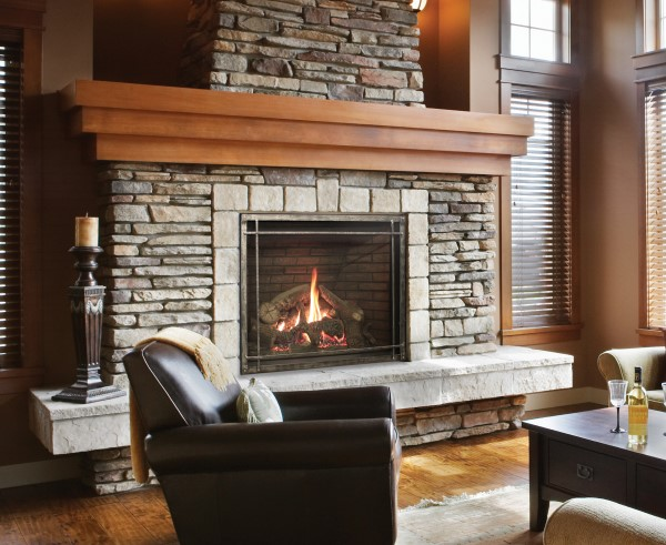 Empire Rushmore Clean-Face Direct-Vent Fireplace