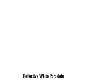 Empire Boulevard Reflective White Porcelain