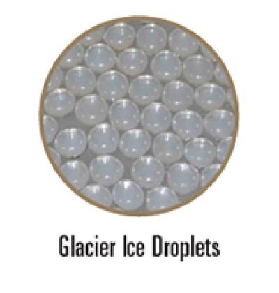 Empire Glacier Ice droplets
