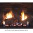 Empire 24-inch Sassafras Refractory Log Set