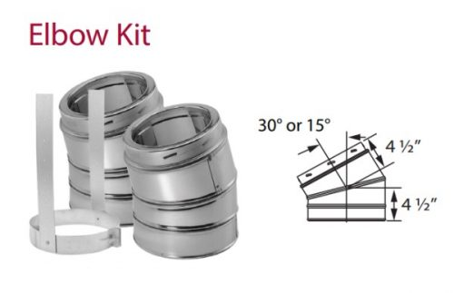 Duravent Duratech Elbow Kit