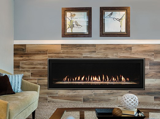 Empire Boulevard Direct-Vent Linear Fireplace, 60