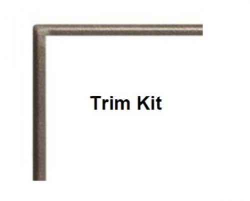 Empire Hammered Pewter Trim kit