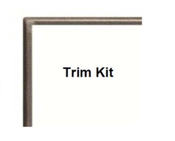 Empire Hammered Pewter Trim kit