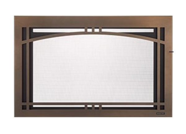 Majestic Contemporary Arch screen front