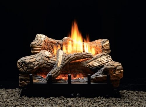 Empire Ceramic Fiber Flint Hill Log Set