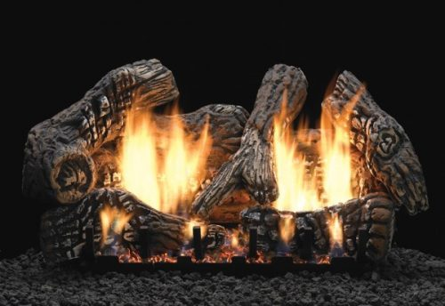 Empire Charred Oak Ceramic Fiber Log Set