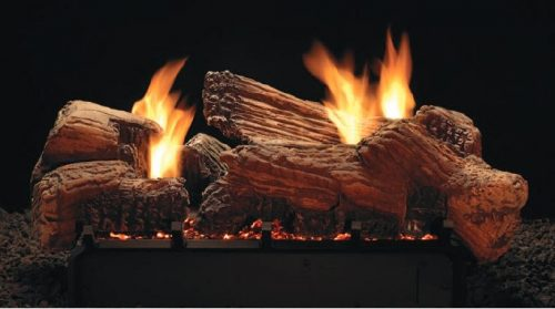 Empire Stone River Multi-Sided Log Set