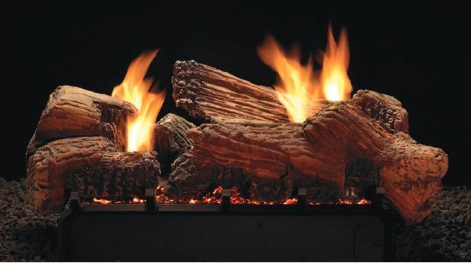 Empire Stone River Multi-Sided Log Set