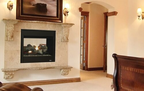 Superior Fireplaces DRT35ST 35 See Through Fireplace