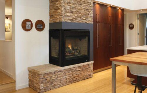 Superior Fireplaces DRT40CLDEN Left Corner