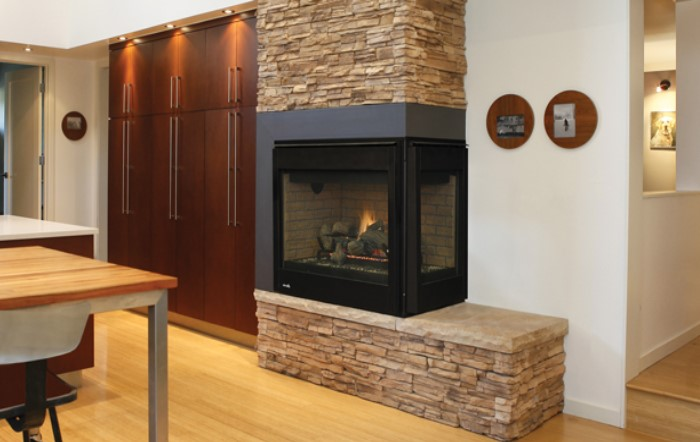 Superior Fireplaces DRT40CRDEN Right Corner