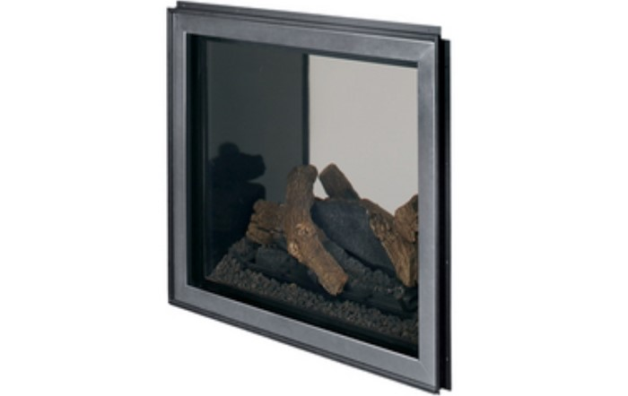 Superior Fireplaces Outdoor Window Kit (Light-Tinted Tempered Glass) With Outdoor Barrier