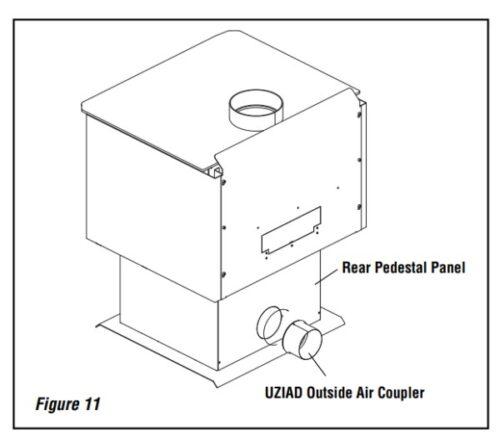 Superior UZIAD 4 inch Flex Adaptor